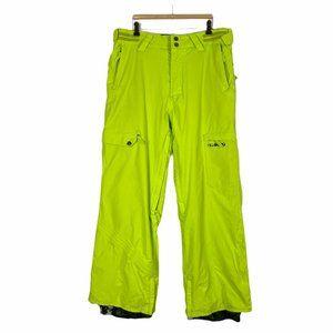 Billabong Ski Snow Snowboard Bright Green Pants